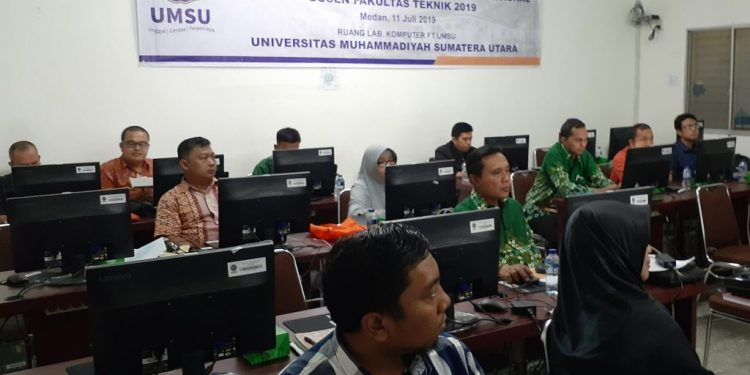 Tingkatkan Publikasi Karya Ilmiah Dosen, Teknik UMSU Gelar ...